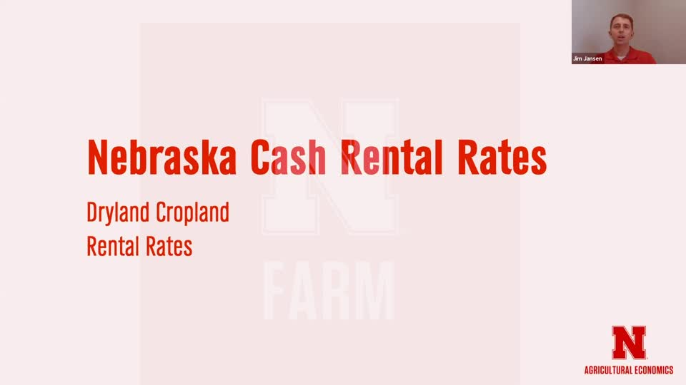 2 - Nebraska Cash Rental Rates | Farmland Trends and Lease Considerations for 2021