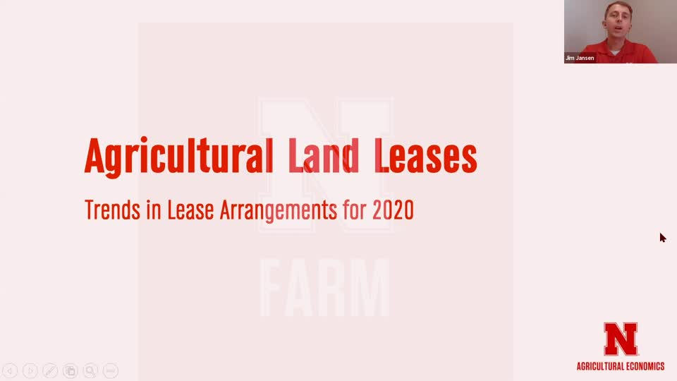 4 - Agricultural Land Leases | Farmland Trends and Lease Considerations for 2021