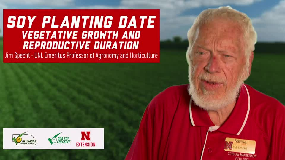 7 -  2020 Soybean Management Field Days - Soy Planting Date – Vegetative Growth and Reproductive Duration