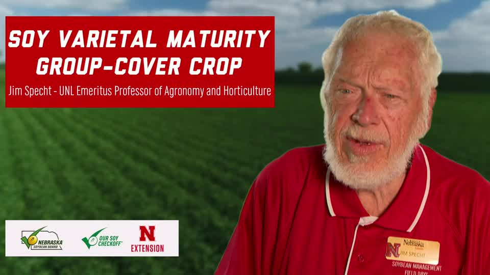 22 - Soybean Management Field Days - Soy Varietal Maturity Group – Cover Crop