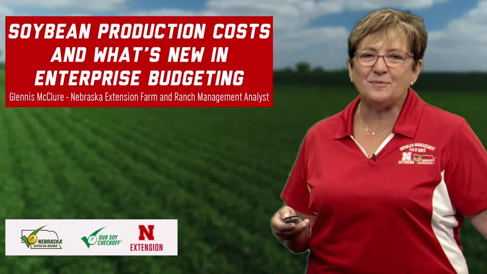 6 - 2020 Soybean Management Field Days - Soybean Production Costs and What's New in Enterprise Budgeting