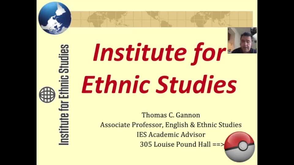Institute for Ethnic Studies majors and minors