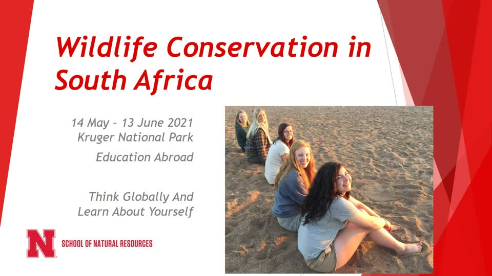 Study Abroad - South Africa - Kruger National Park - 2021