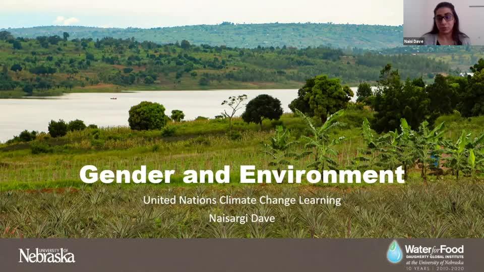 Global Voices Seminar: Gender & the Environment, featuring Naisargi Dave