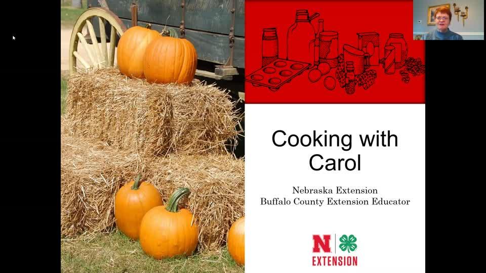 Cooking with Carol - Pumpkin Pie Bars