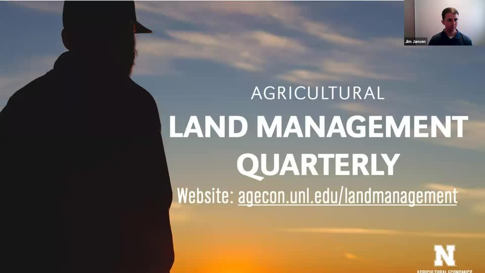 Ag Land Management Quarterly November 2020