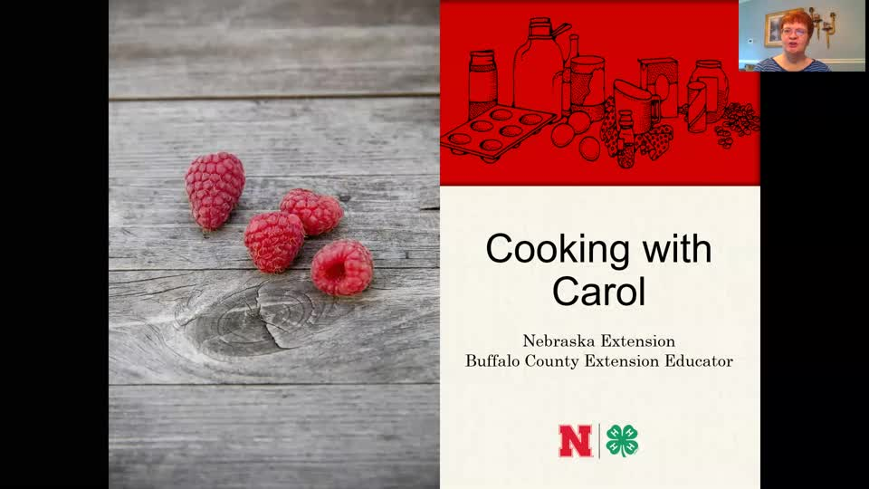 Cooking with Carol - Raspberry Salad