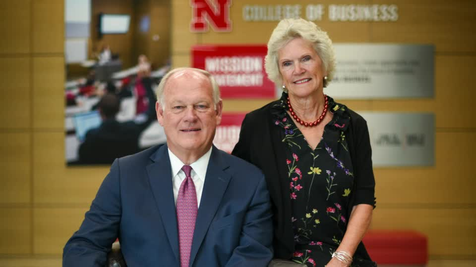 Nebraska Business Thompson Endowed Chairs