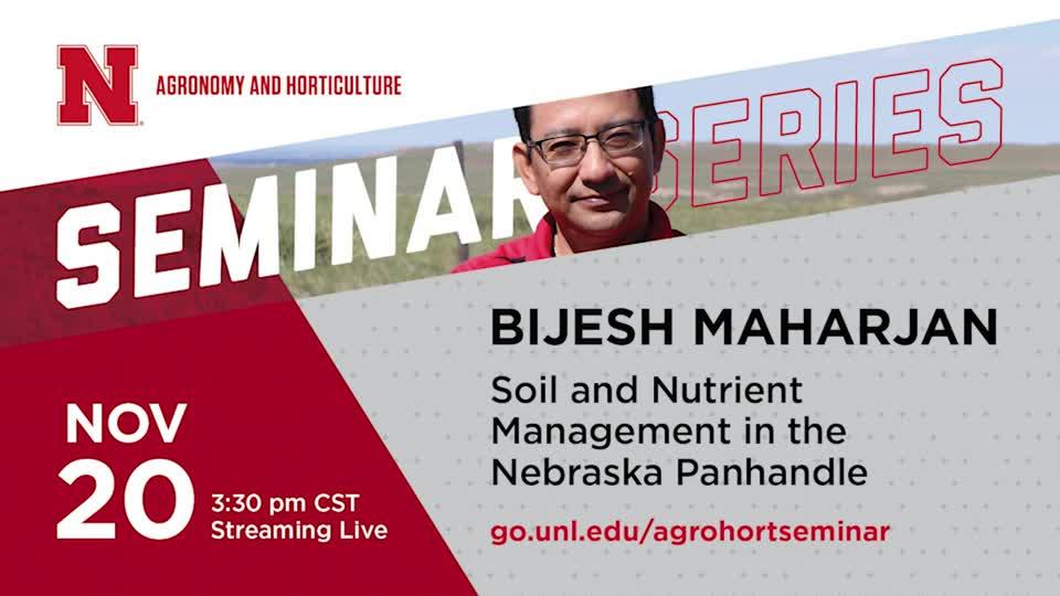 Soil and Nutrient Management in Nebraska Panhandle