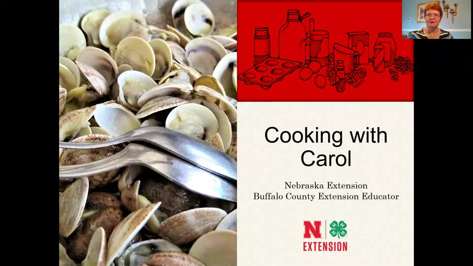 Cooking with Carol - Clam Dip