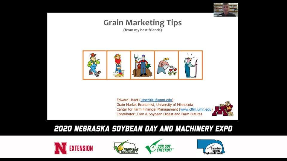 Video 3 - 2020 Virtual Nebraska Soybean Day and Machinery Expo
