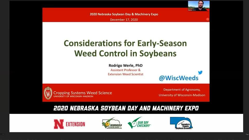 Video 5 - 2020 Virtual Nebraska Soybean Day and Machinery Expo