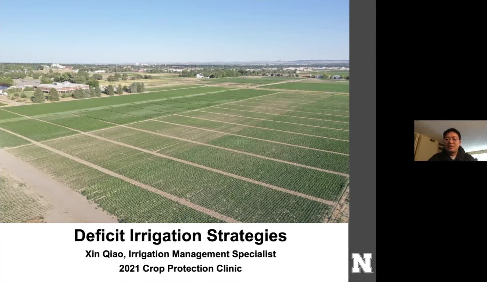 Deficit irrigation strategies for corn, sugar beets, and dry edible beans