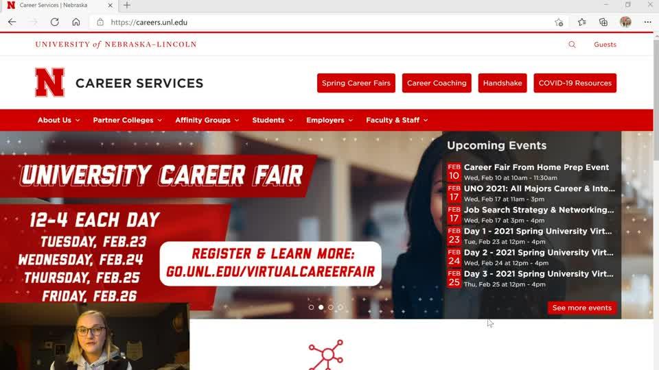 How-to Guide: Spring Career Fair Registration