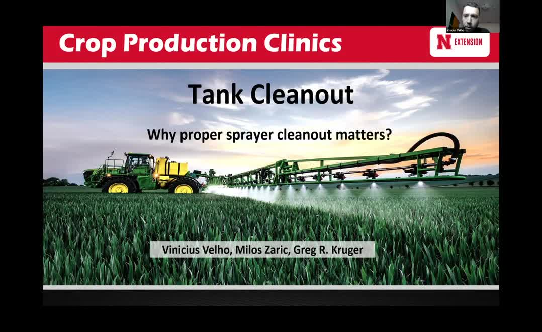 Tank Cleanout - Why proper sprayer cleanout matters