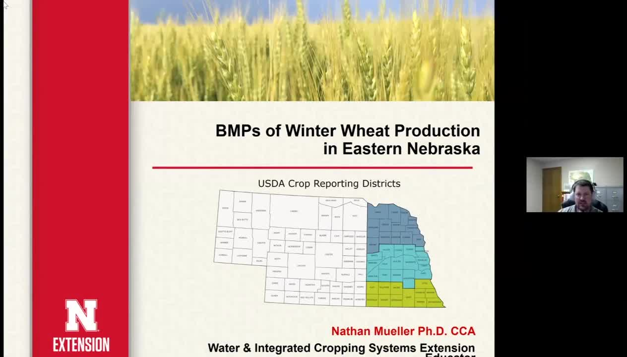 BMPS of Winter Wheat Production in Eastern NE