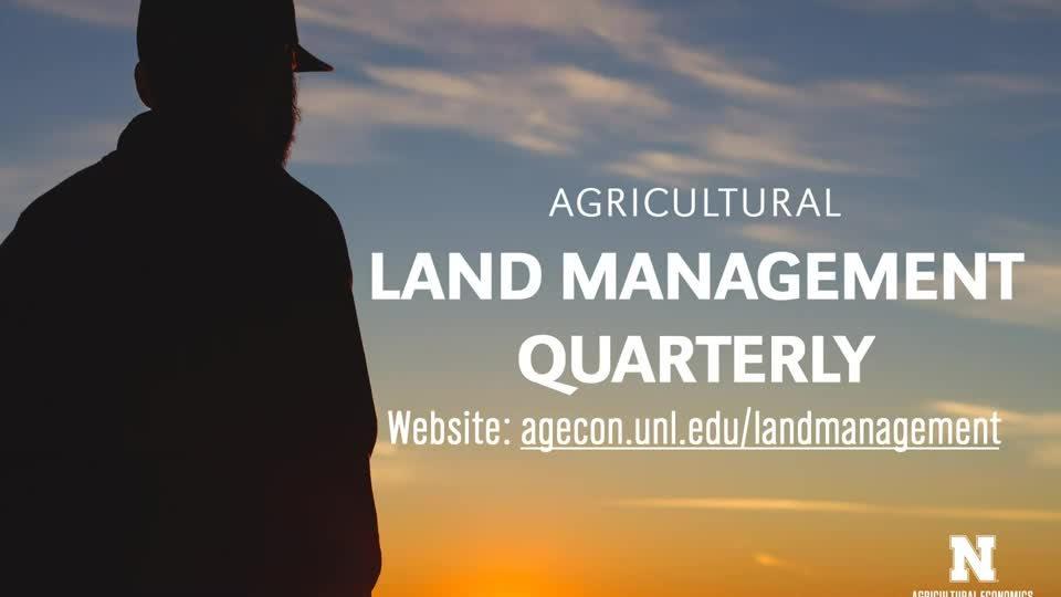 Agricultural Land Management Quarterly - Feb. 15, 2021