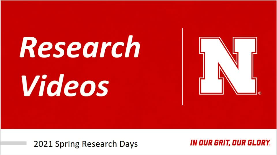 Student Research Days 2021 Tutorial
