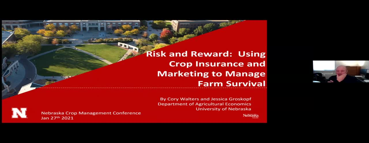 Risk and Reward: Using Crop Insurance and Marketing to Manage Farm