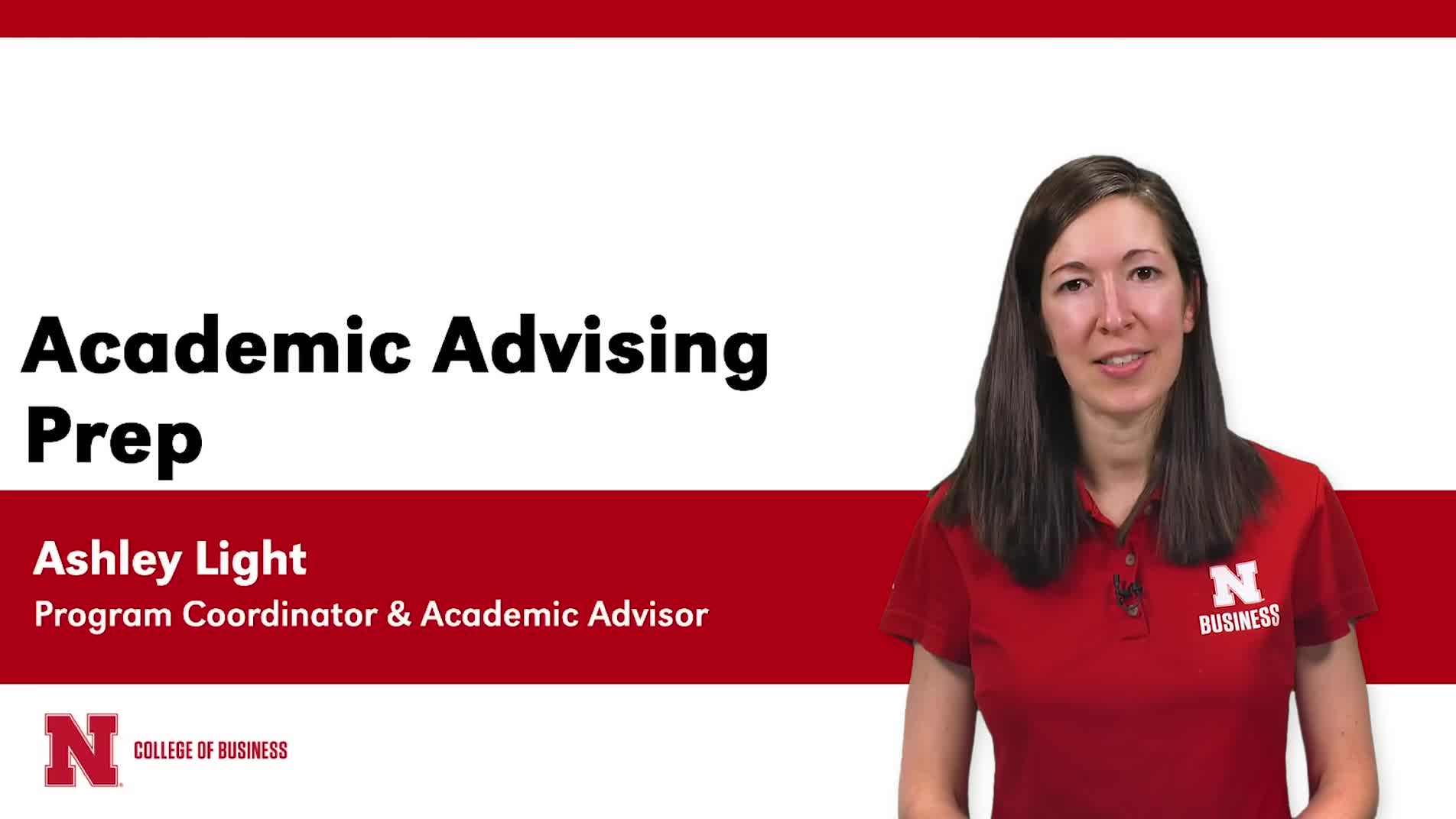 Business Academic Advising Prep