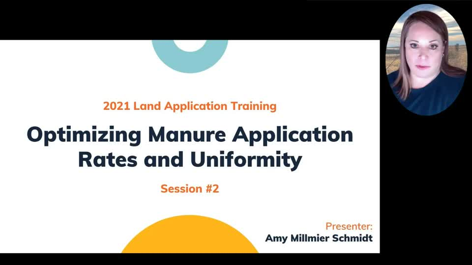 Optimizing Manure Application Rates and Uniformity