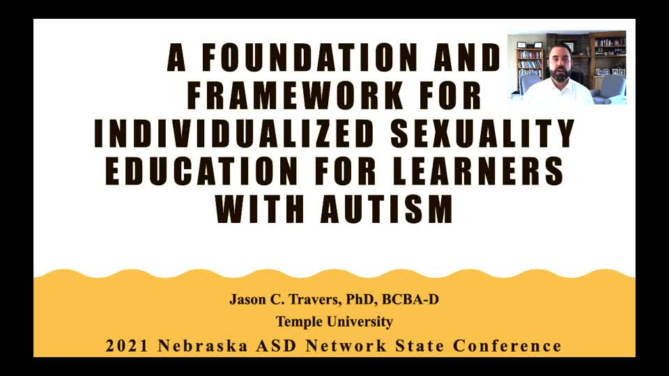 A Foundation and Framework for Providing Sexuality Education to Individuals with Autism