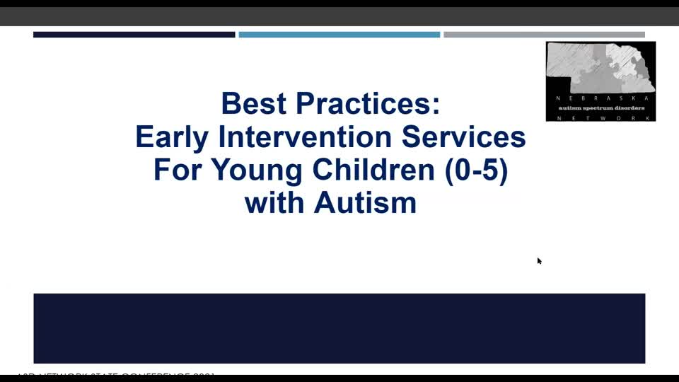 Best Practices in Early Intervention Services (0-5)