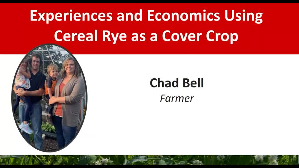 2021 Nebraska Cover Crop and Soil Health Conference - Chad Bell