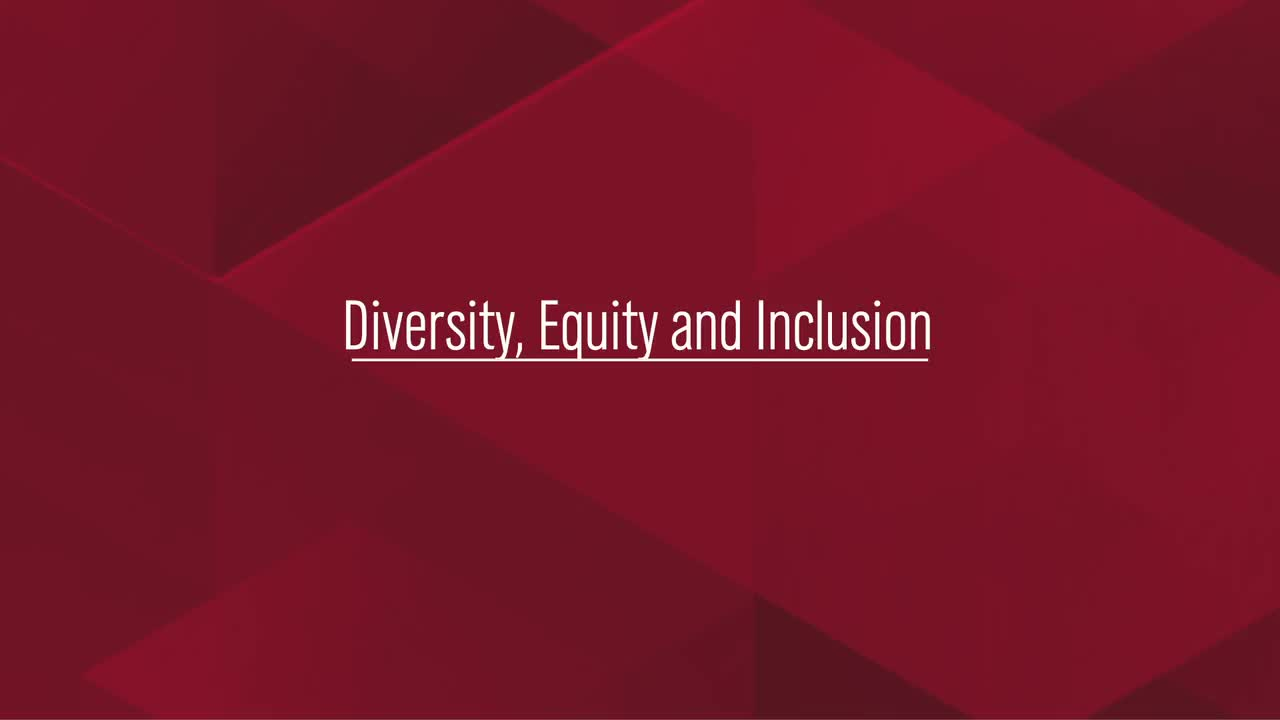 Diversity, Equity and Inclusion in IANR: Striving for Excellence