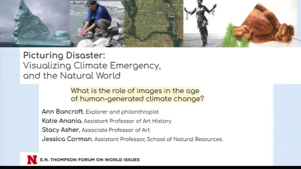 Picturing Disaster Panel