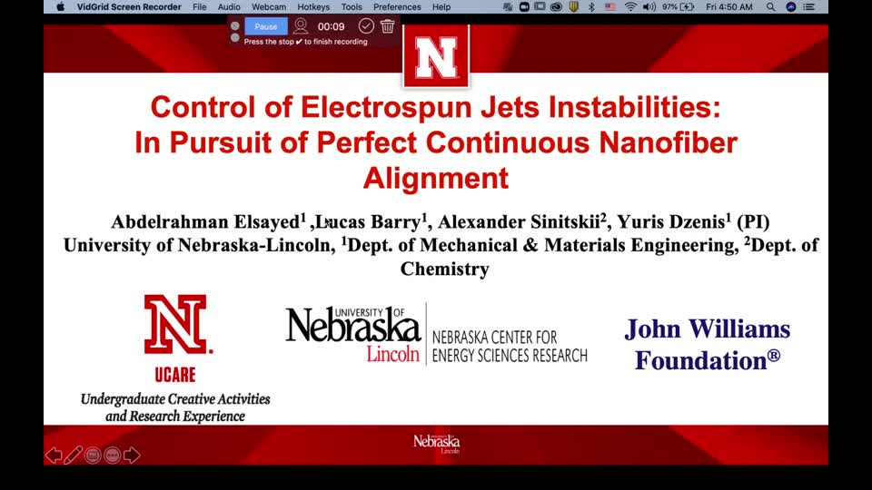 Control of Electrospun Jets Instabilities:In Pursuit of Perfect Continuous Nanofiber Alignment