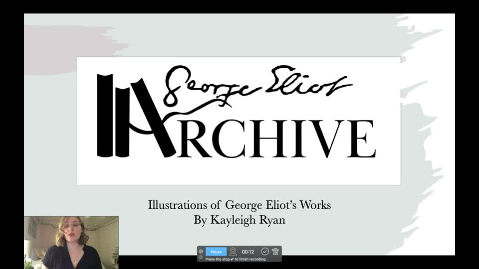 Illustrations of George Eliot's Works