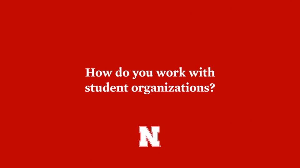 Hassan Ramzah: Student Organizations