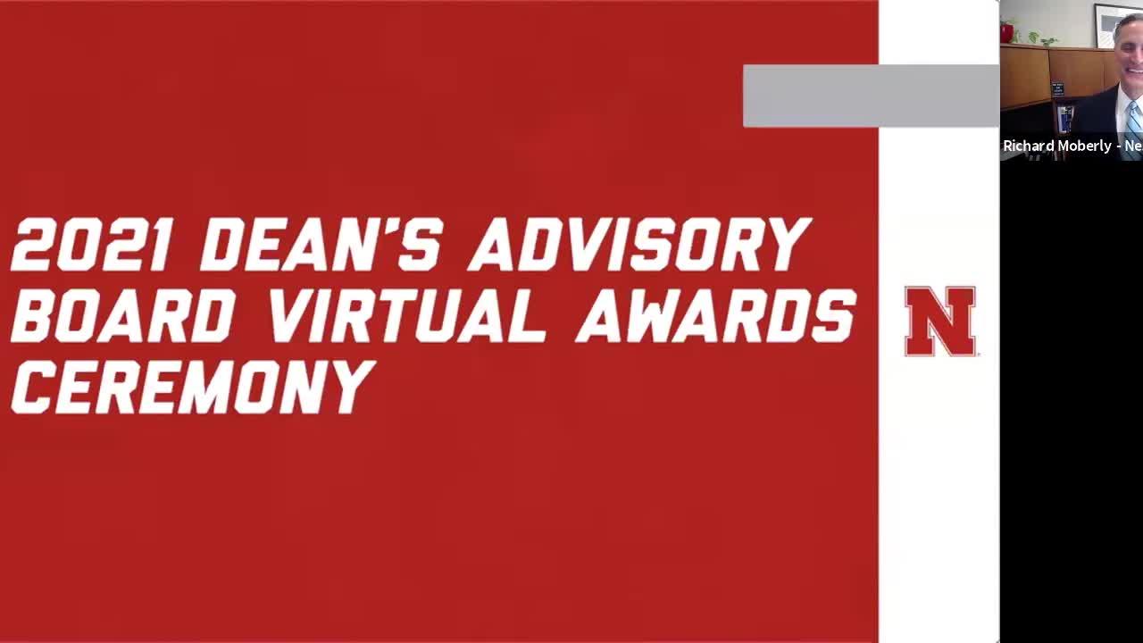 2021 Dean's Advisory Board Awards