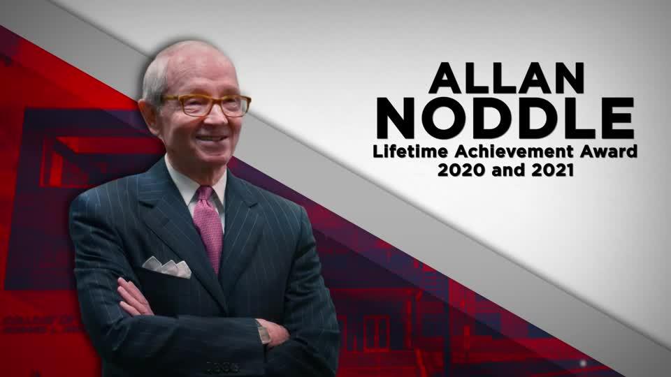 Allan Noddle Business Lifetime Achievement Award 2020 2021