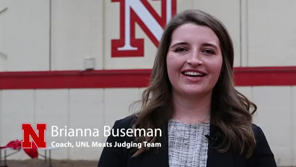 UNL Meats Judging Team
