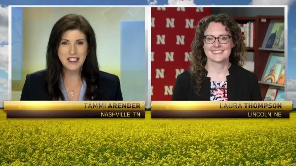 On RFD-TV: Laura Thompson