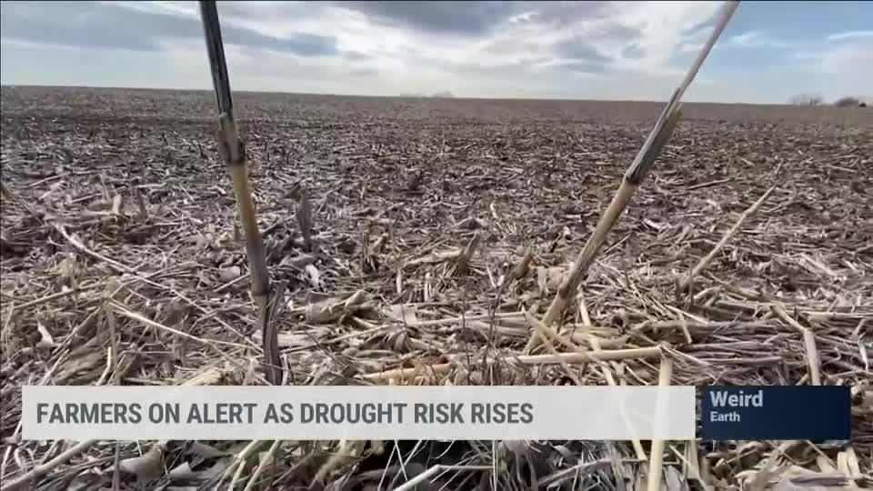 Drought Risk Rises