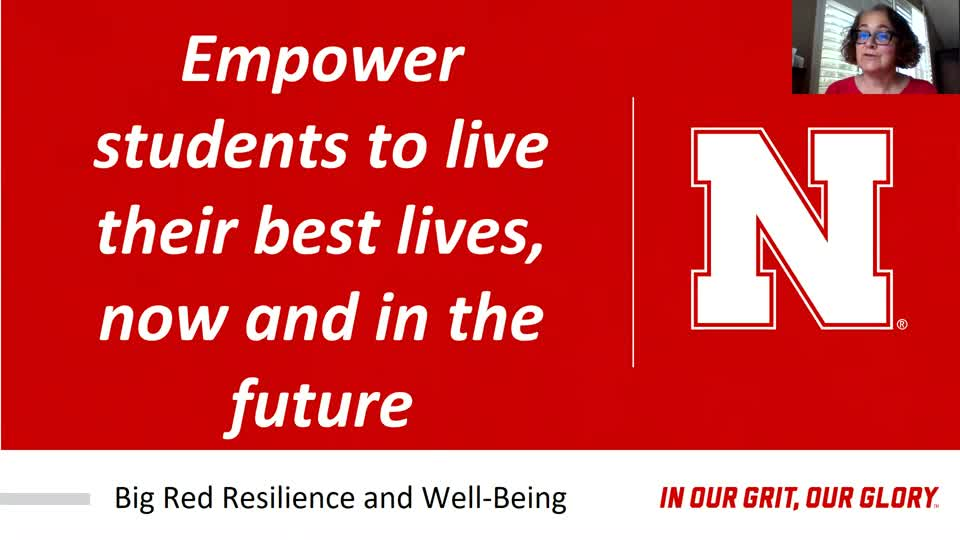 Big Red Resilience and Well-being-NSE VIDEO