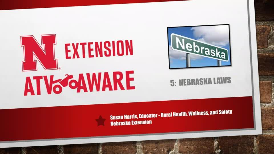 Nebraska Laws Video