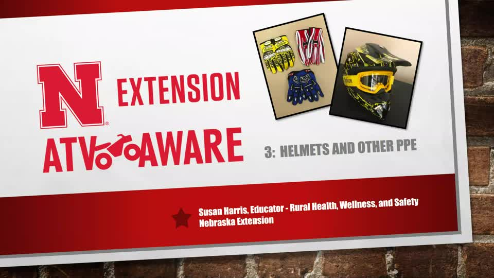Helmets and Other PPE - ATV Aware