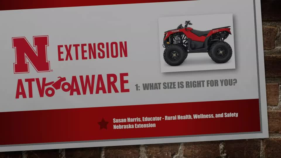 What Size is Right for You? - ATV Aware