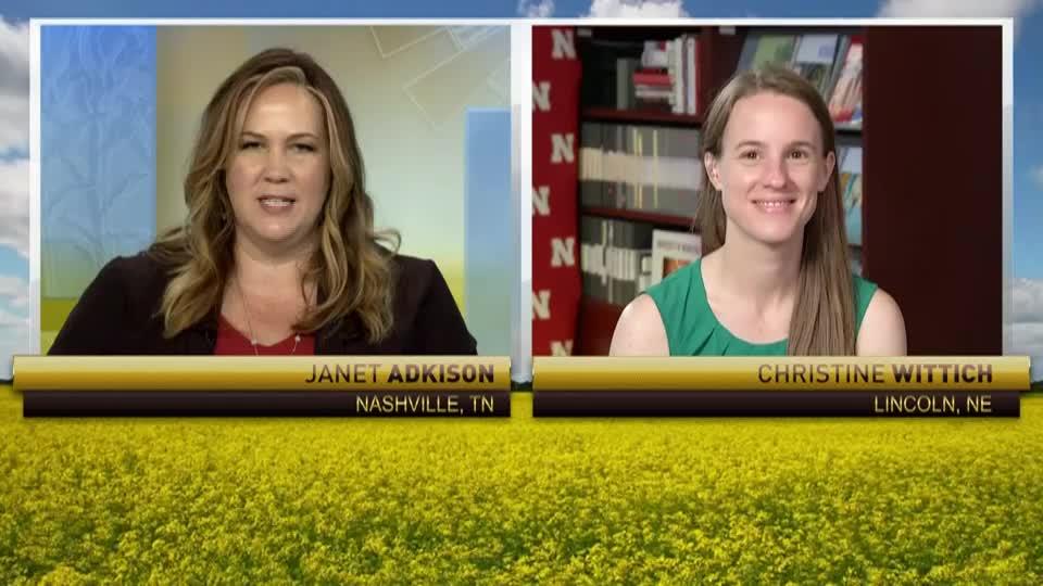 On RFD-TV: Christine Wittich