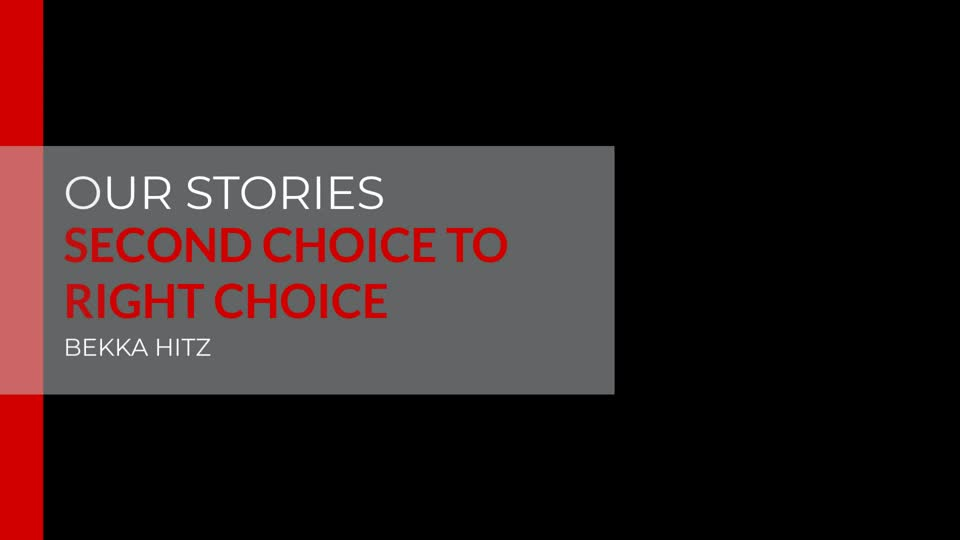 From Second Choice to Right Choice