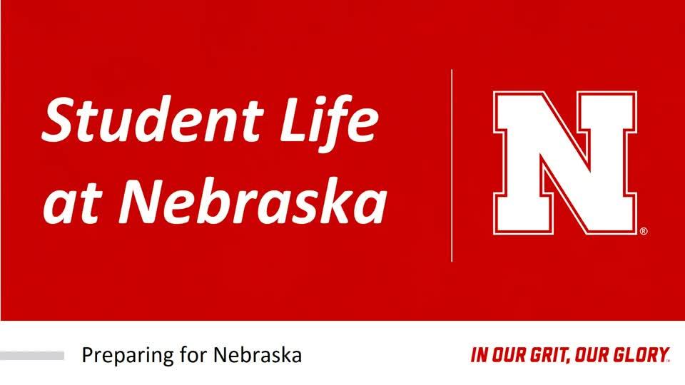 Student Life at Nebraska