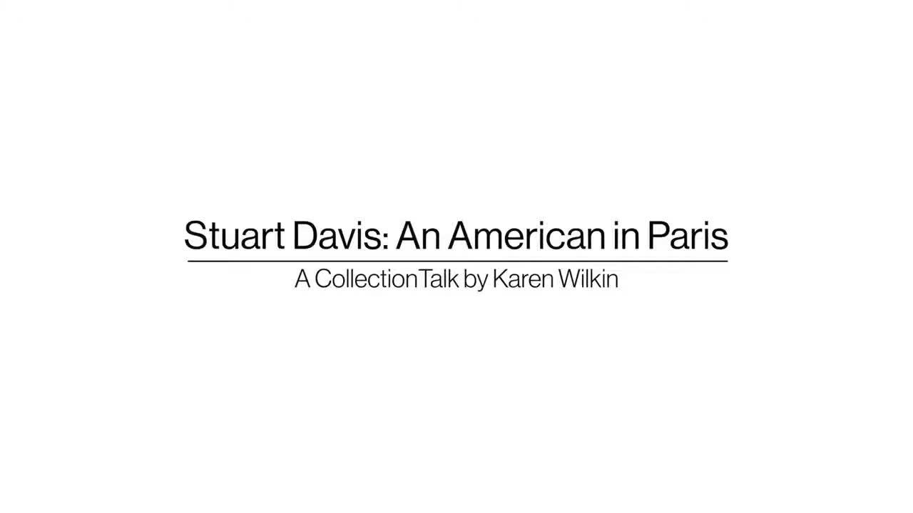 Stuart Davis: An American in Paris