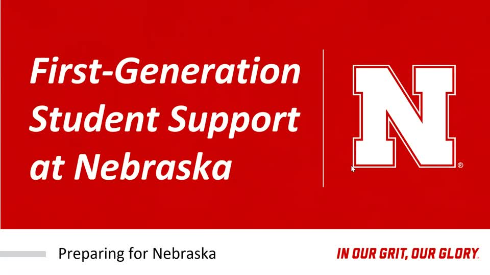 First-Generation Student Support