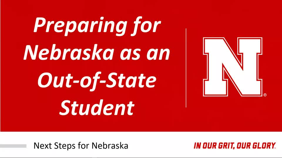 Out-of-State Student Experience