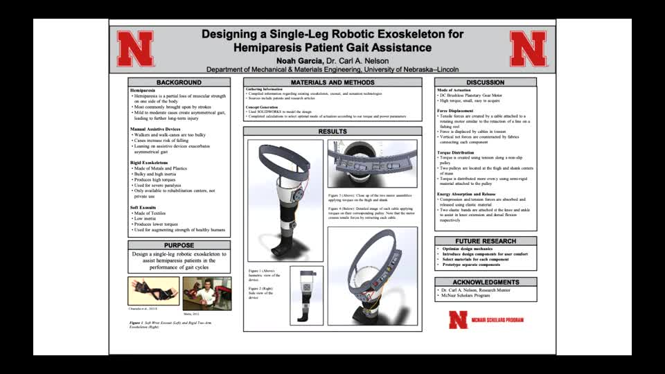 Designing a Single-Leg Robotic Exoskeleton for Hemiparesis Patient Gait Assistance