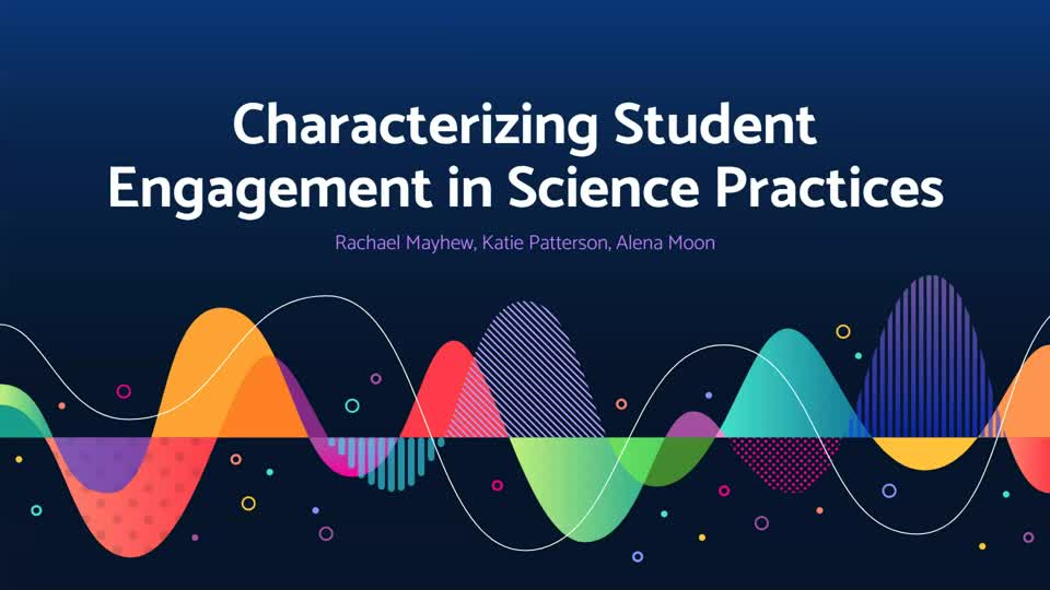 Characterizing Student Engagement in Science Practices